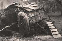 De vlabakster en het bakhoes